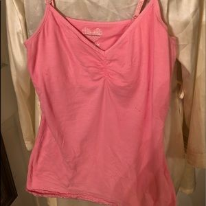 Energie Cami with polka dot straps